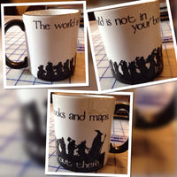 Gandalf Lord of the Rings quote coffee mug