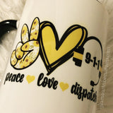 Dispatcher mug, 911 mug, dispatch mug, dispatcher gift