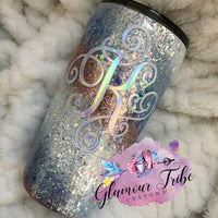 Tier 2 CUSTOM ORDER Glitter Tumbler, best friend birthday gift, marble tumbler, gift for her, Mother's Day gift, Custom Glitter Tumbler, personalized tumbler, Glittered Stainless Steel Tumbler, geode tumbler, marble tumbler, bling tumbler