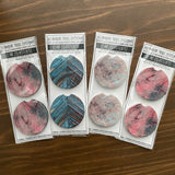 Holographic Mylar Design Car Coasters