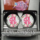 Customized Personalized Car Coasters