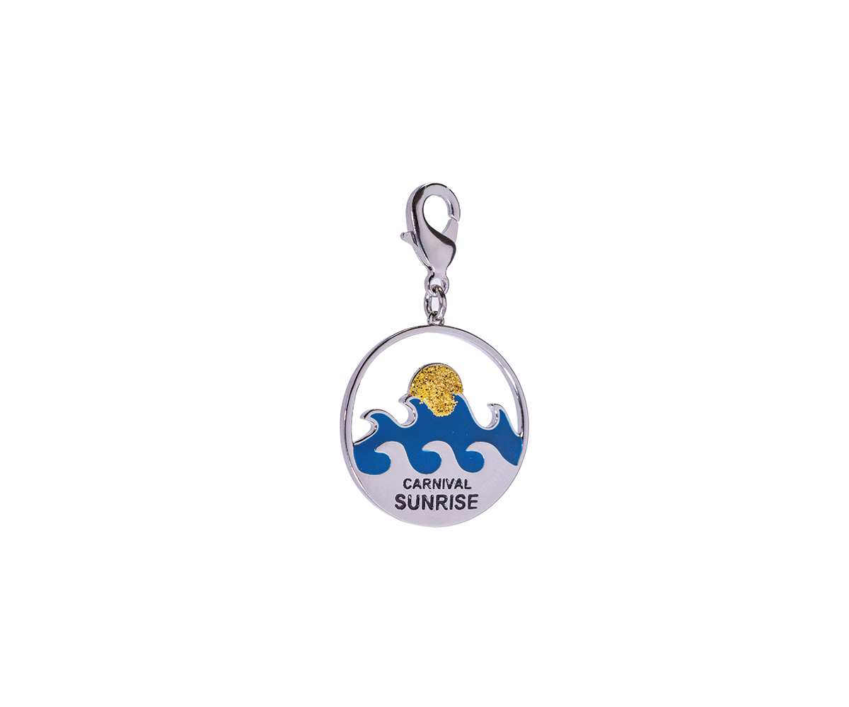 Carnival Sunrise Launch Charm Limited Edition