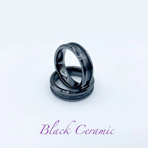 Ceramic Ring Base - Black - Today Tomorrow Always Keepsakes