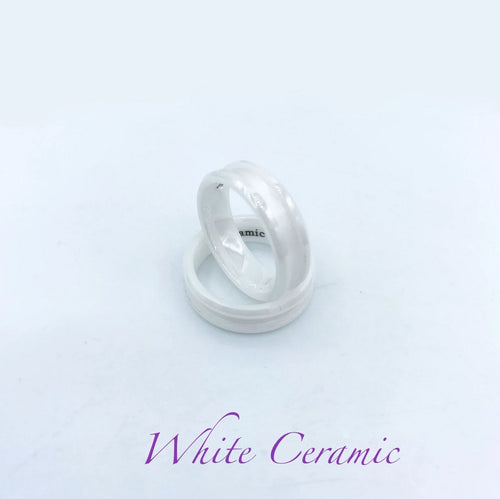 Ceramic Ring Base - White - Today Tomorrow Always Keepsakes