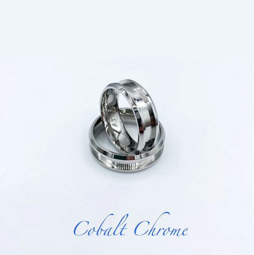 Cobalt Chrome Ring Base - Today Tomorrow Always Keepsakes- -Breastmilk - Breastmilk Ring  - Ashes - Baby - Keepsake - Funeral - Wedding - Birth - Pregnancy Loss - Infant Loss - Engagement Gifts - Baby Shower Gifts - Grief - Broken Hearted