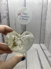 Load image into Gallery viewer, Inside my Heart - Today Tomorrow Always Keepsakes- -Breastmilk - Breastmilk Ring  - Ashes - Baby - Keepsake - Funeral - Wedding - Birth - Pregnancy Loss - Infant Loss - Engagement Gifts - Baby Shower Gifts - Grief - Broken Hearted