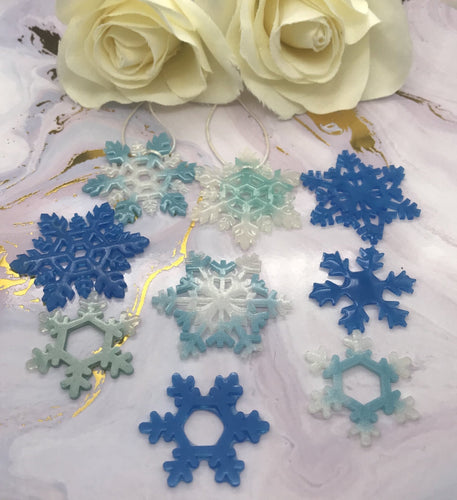 Snowflake Set - Today Tomorrow Always Keepsakes- -Breastmilk - Breastmilk Ring  - Ashes - Baby - Keepsake - Funeral - Wedding - Birth - Pregnancy Loss - Infant Loss - Engagement Gifts - Baby Shower Gifts - Grief - Broken Hearted