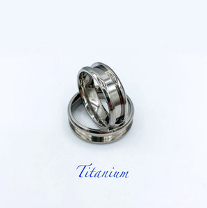 Titanium Ring Base - Today Tomorrow Always Keepsakes
