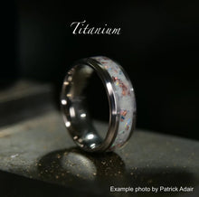 Load image into Gallery viewer, Titanium Ring Base - Today Tomorrow Always Keepsakes
