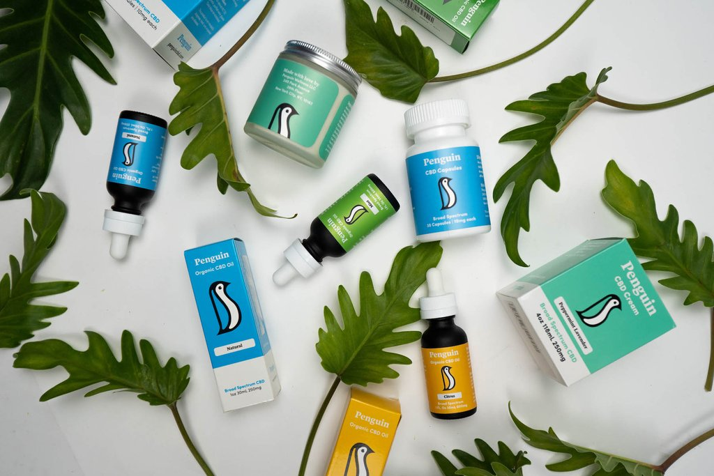 Penguin sells an assortment of all-natural CBD products.