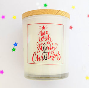 Christmas Candle Stickers