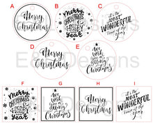Load image into Gallery viewer, Christmas Candle Stickers