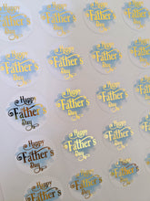 Load image into Gallery viewer, Happy Father's Day Foil Stickers