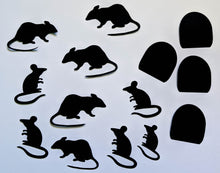 Load image into Gallery viewer, Halloween Paper Mice - Halloween Decorations