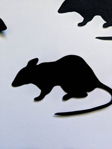 Halloween Paper Mice - Halloween Decorations