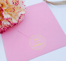 Load image into Gallery viewer, Clear Confetti Foil Envelope Seals