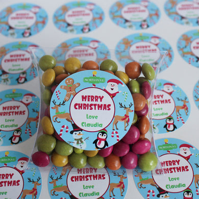 Personalised Children's Christmas Stickers