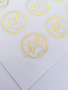 Rings Wedding Invitation Envelope Seals