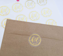 Load image into Gallery viewer, Rings Wedding Invitation Envelope Seals