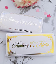 Load image into Gallery viewer, Wedding Chocolate Wrappers - Intricate Border