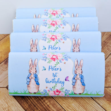 Peter Rabbit Chocolate Wrappers x 10
