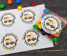 Load image into Gallery viewer, E&L Designs Construction Party Stickers