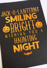 Load image into Gallery viewer, E&L Designs Halloween Foil A4 Posters
