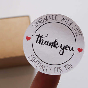 E&L Designs Handmade With Love Business Orders Stickers