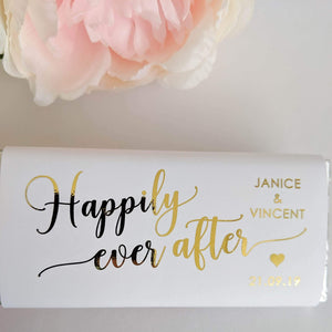 E&L Designs Happily Ever After Chocolate Wrappers x 10