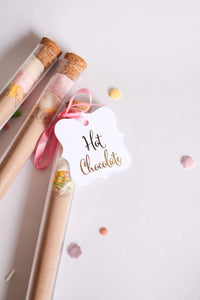 E&L Designs Hot Chocolate Thank You Gift Tags