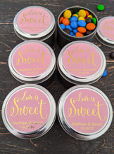 Load image into Gallery viewer, E&L Designs Love is Sweet Colour Foil Stickers