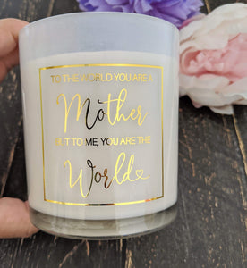 E&L Designs Mother's Day Clear Foiled Candle Stickers