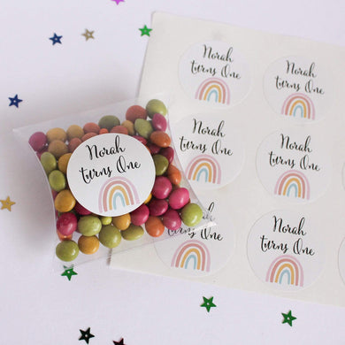 E&L Designs Natural Rainbow Stickers