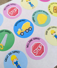 Load image into Gallery viewer, E&L Designs Personalised Homeschool Stickers