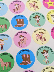E&L Designs Personalised Homeschool Stickers