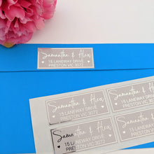 Load image into Gallery viewer, E&L Designs Return Address Labels - Colour with Foil