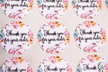 Load image into Gallery viewer, E&L Designs Thank You For Your Order Stickers for Business - Pack of 24