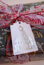 Load image into Gallery viewer, E&L Designs Traditional Foil Christmas Gift Tags - Pack of 10