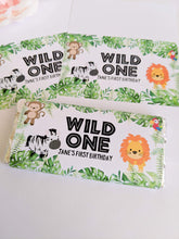 Load image into Gallery viewer, E&L Designs Wild One Jungle Chocolate Wrappers