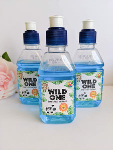 E&L Designs Wild One Jungle Pop Top Labels