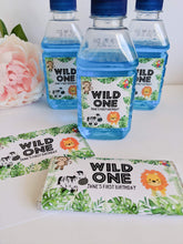 Load image into Gallery viewer, E&L Designs Wild One Jungle Pop Top Labels