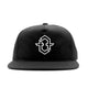 City Logo Snapback Hat (Black)