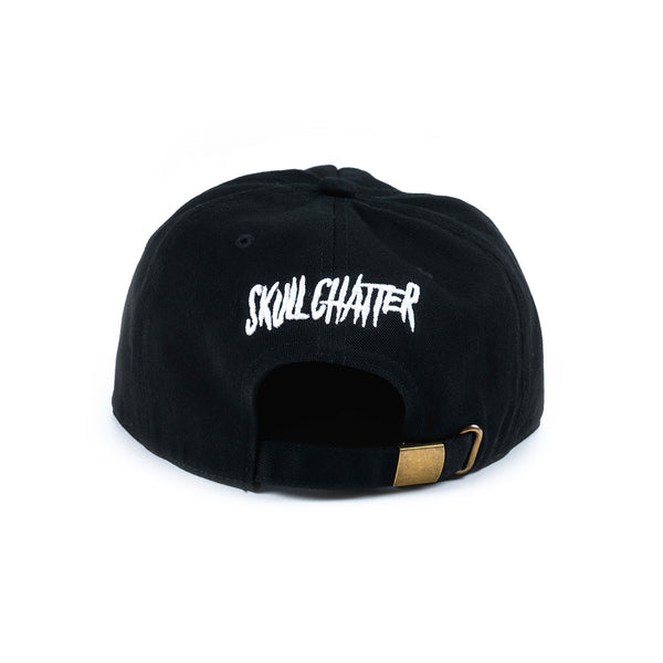 Skull Chatter Painter's Hat (Black)