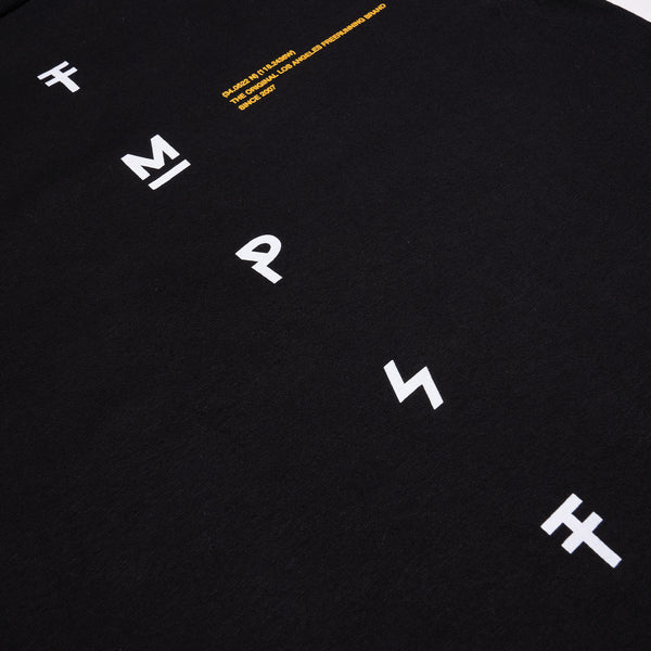 Diagram Long-Sleeve Tee (Black)