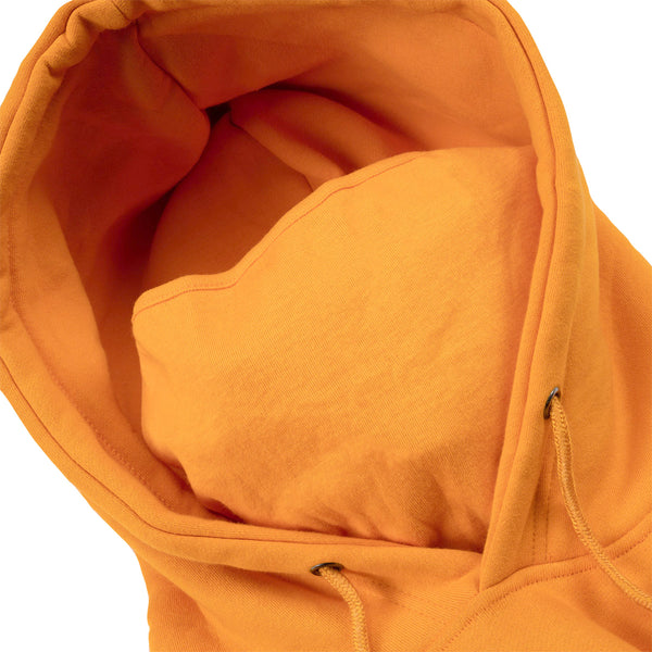 Diagram Masked Hoodie (Orange)