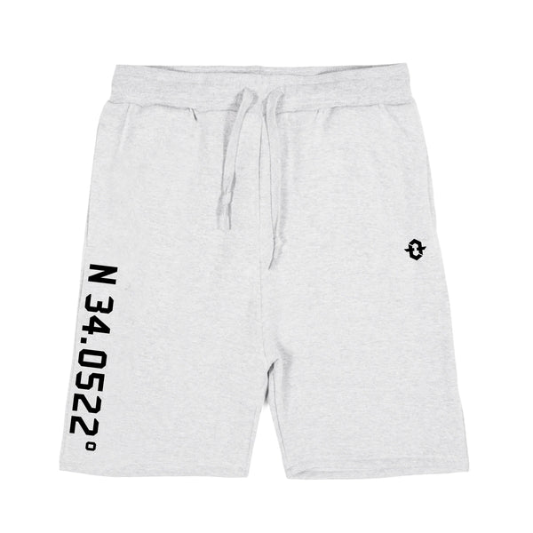 Coordinate Sweatshorts (Heather Grey)