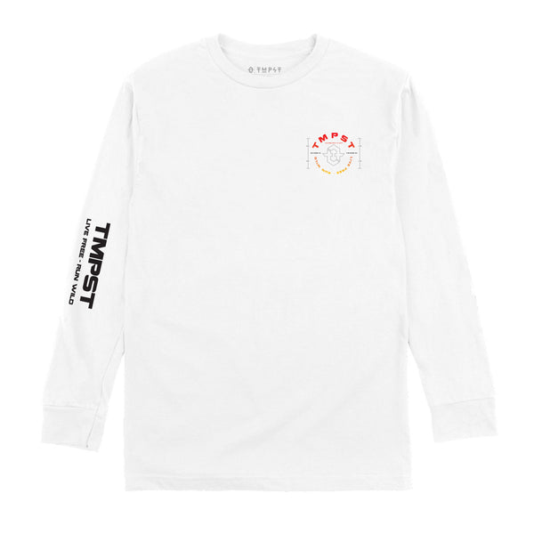 Astral Long-Sleeve Tee (White)
