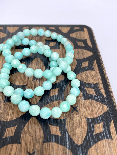 Russian Amazonite Stretch Bracelet