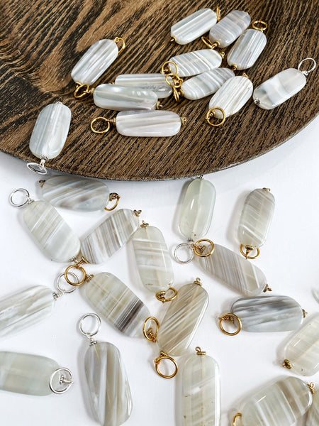 White Stripe Agate (large)