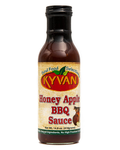 KYVAN Honey Apple BBQ Sauce